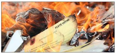 Bashkitë e opozitës, letër KQZ: Hiqni materialet zgjedhore ose do t'i asgjësojmë