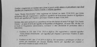 Vendimi i Gjykatës Durrës