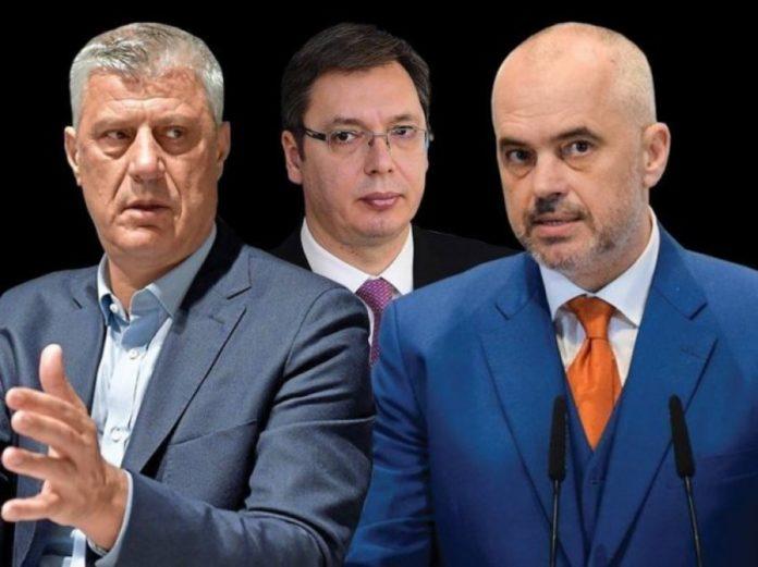 Ndarja e Kosovës, Haradinaj treshes Rama-Thaçi-Vuçiç: Më keni kundër