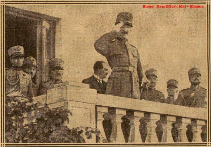 Festimi i përvjetorit të katërt të kurorëzimit të Ahmet Zogut si Mbret i Shqipërisë