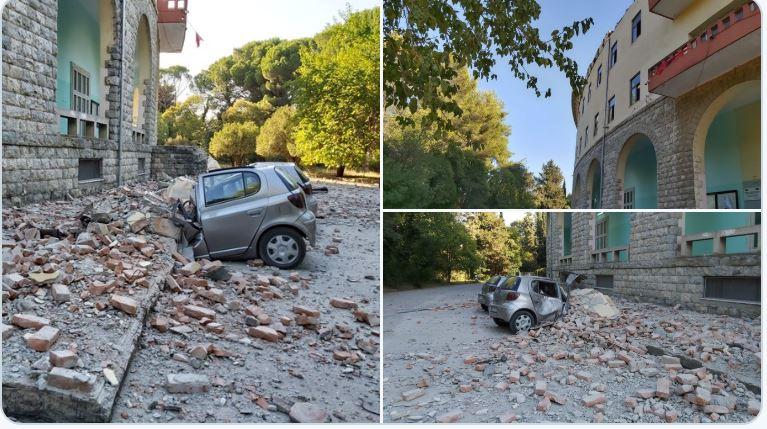 Presidenti Meta në epiqendrën e tërmetit, në Durrës: Të jemi të përgatitur për çdo situatë